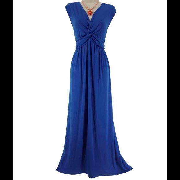 77cfd4a5e21 L.A.GOLD Dresses   Skirts - Size XXL NEW Sexy ROYAL BLUE MAXI DRESS Plus  Size
