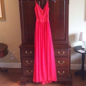 Dresses & Skirts - RED open back dress