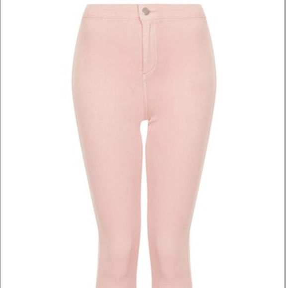 57% off H&ampM Pants - Light pink high waisted skinny jeans from
