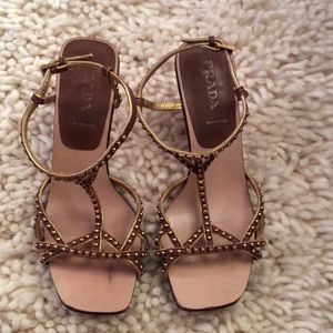 *AUTHENTIC* Prada Sandal Sz 37/7