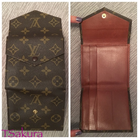 louis vuitton authentic louis vuitton vintage porte monnaie from sakura ai 39 s closet on poshmark. Black Bedroom Furniture Sets. Home Design Ideas