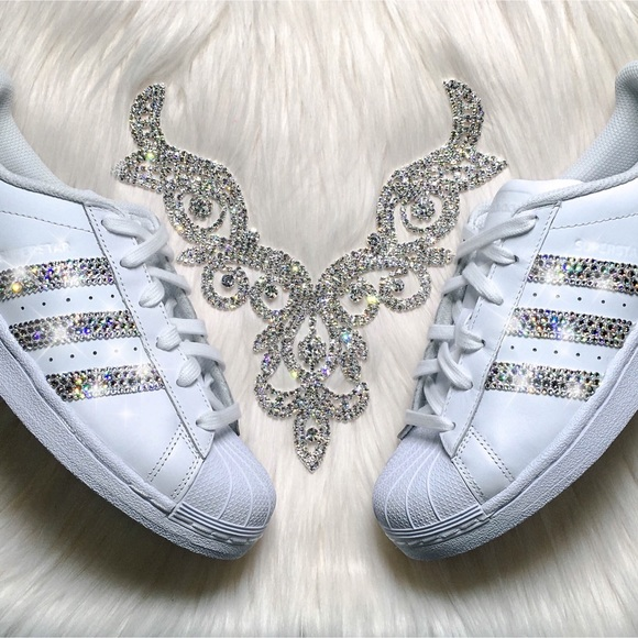 914af4ed68e Adidas Shoes | Swarovski Superstar Bling | Poshmark