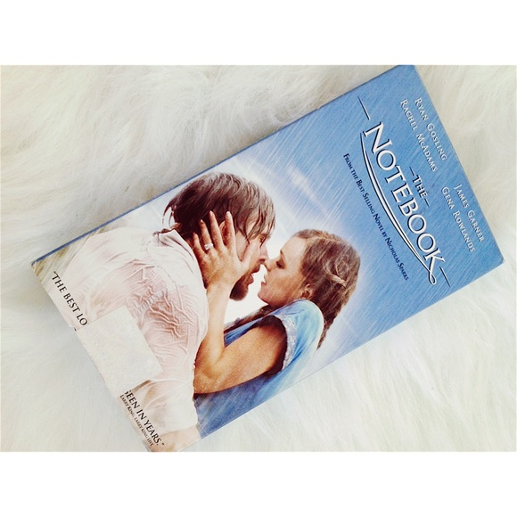 The Notebook VHS Movie