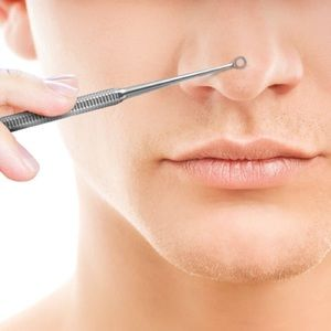 Pimple and blackhead remover tool