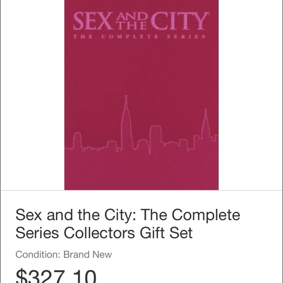 Sex and the city the complete series gift