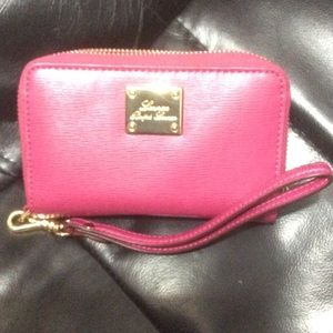 Handbags - Ralp Lauren Pink Wristlet