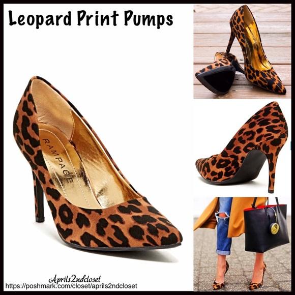 7c0ef7753265 ❗️1-HOUR SALE❗️Leopard Print Pump High Heels