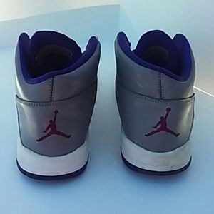 533ed1e4e7e9 Nike Shoes - Nike Air Jordan v iv iii Youth 7 Shoes Purple Gray