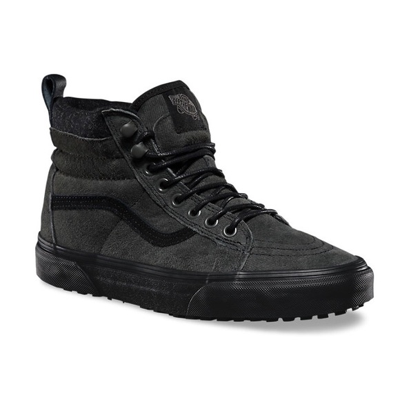 Vans Sk8-Hi MTE (Denim Suede Black). M 5714fa3b2599feeeae003036 be215294fb396