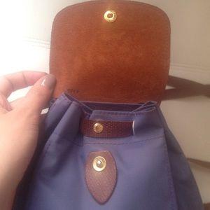 Deal Cheap Portable Longchamp Cosmetic Purse Fuchsia