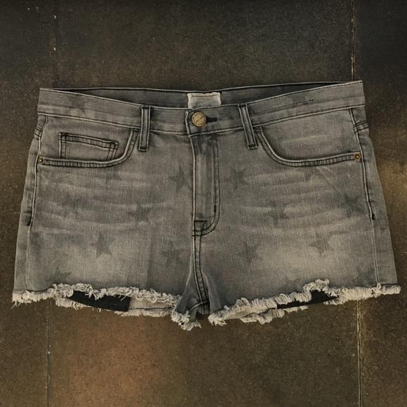 88d307a380d Current/Elliott Shorts | Current Elliott Star Print Boyfriend | Poshmark