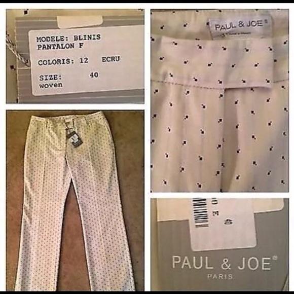 Paul   Joe Pants   Designer Paul Joe Ecru Dress New 46   Poshmark 28abec0b6a85