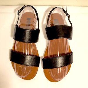 ShuShop Shoes - ShuShop Black Strappy Sandals