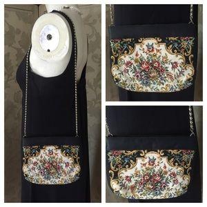 Vintage Handbags - Vintage ADG Tapestry Cross-Body or Clutch