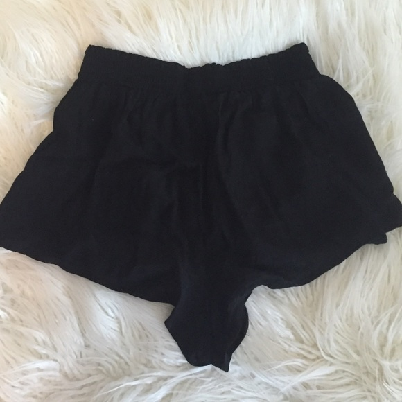 47% off Forever 21 Pants - Black F21 high waisted soft shorts from ...
