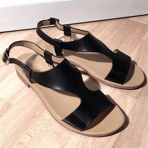 Pierre Dumas Shoes - Pierre Dumas Black Sandals