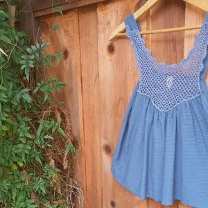 Sparkle and Fade Swing Tank Top