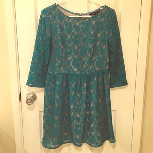 French Connection Dresses & Skirts - French Connection Anna Lace Dress 3/4 Sleeves