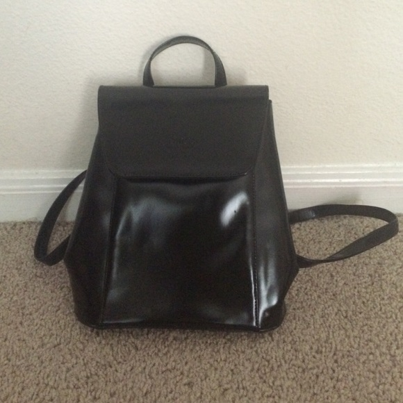 85c9fbd76 Gucci Bags | Small Leather Black Backpack | Poshmark