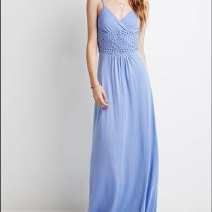 Dresses & Skirts - Periwinkle Maxi Dress