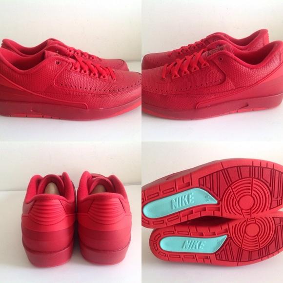7102001e57b Nike Shoes | Air Jordan 2 Retro Low Gym Red University Red | Poshmark