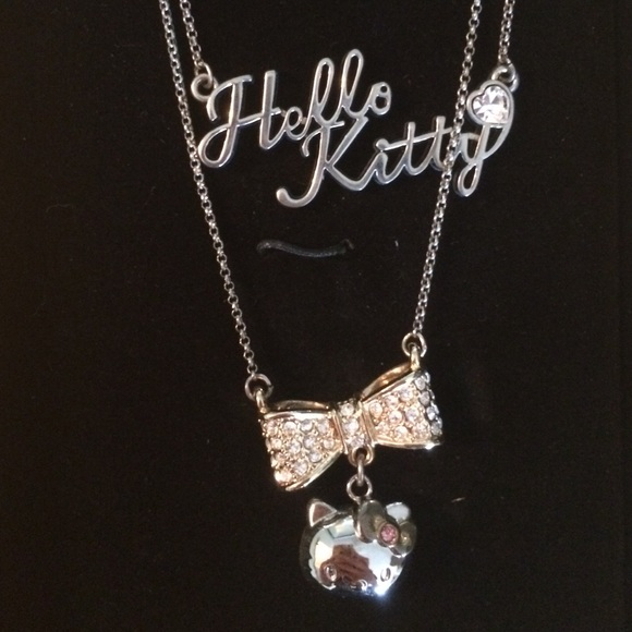 f6fe1a44b Hello Kitty Jewelry | Hp New Sanrio Double Chain Necklace | Poshmark