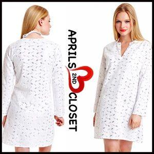 Coverup Embellished Tunic Dress