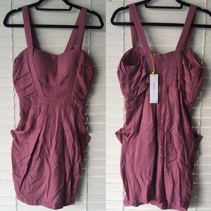 BCBGeneration Dresses & Skirts - BCBGeneration pinky purple dress