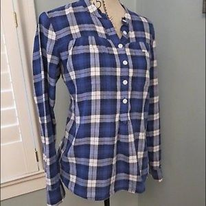 *SOLD* Madewell popover in plaid