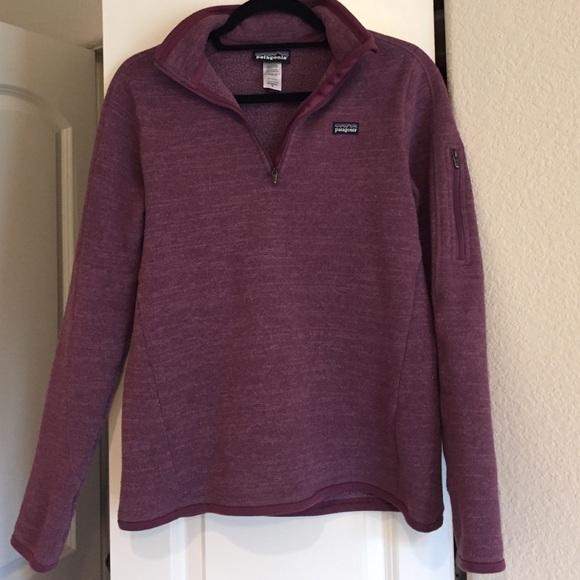 Patagonia Jackets Coats Womens Better Sweater 14 Zip Fleece