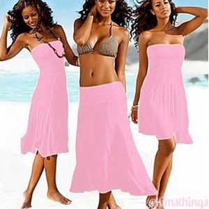 Four way dress/skirt in pink