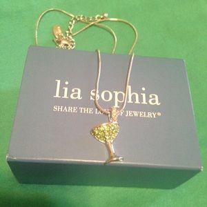 Lia Sophia Jewelry - 🍸Lia Sophia Cheers Martini Necklace🍸