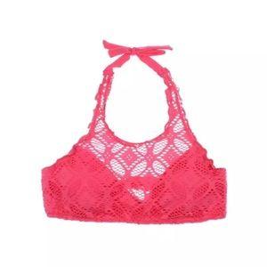 BECCA Other - NWT💠BECCA Crochet Halter Swim Top