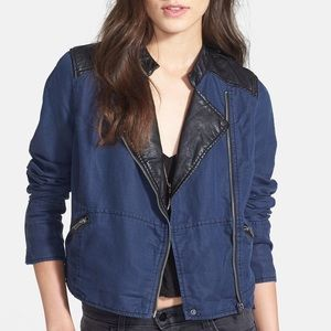 NWOT Free People Moto Jacket
