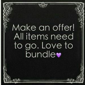 Accessories - Wanted: offers and bundles!