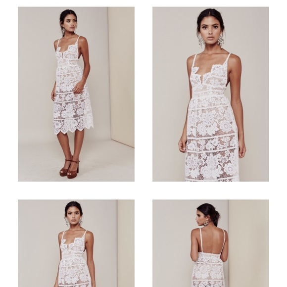 96a72cf928 For Love and Lemons Dresses   Skirts - For Love and Lemons Gianna Dress in  White
