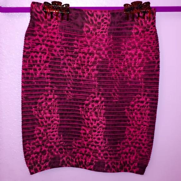 dollskill Skirts - ✨💖💖 Hott Pink Leopard Skirtie 💖💖✨