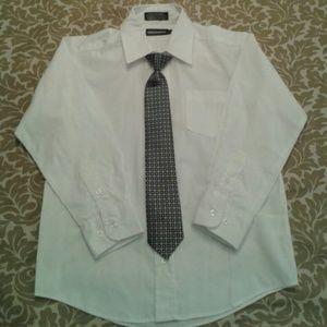 Dockers Other - Dockers boy's button-down shirt & necktie