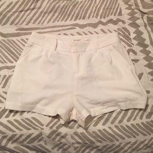 Blu Pepper Pants - White High-waisted Shorts