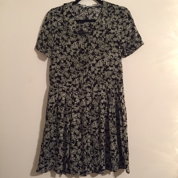 36 off urban outfitters dresses skirts kimchi blue for Black pleated dress shirt