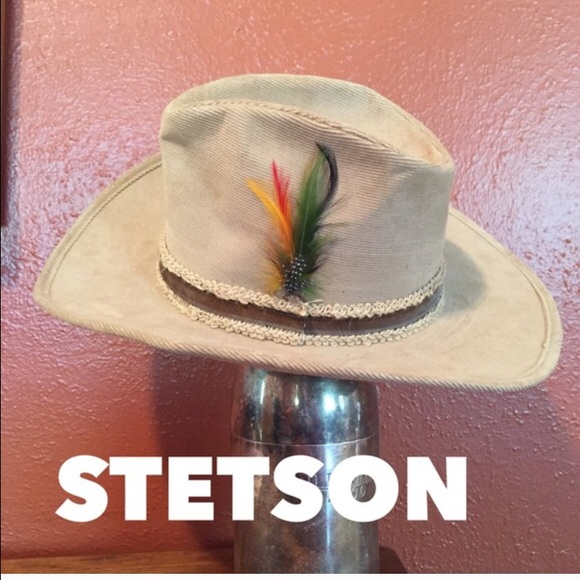 7f75c3801ed62 Vintage corduroy Stetson cowboy hat. M 57159175bcd4a7421000522e