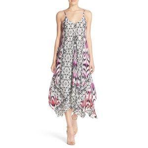 Charlie Jade Dresses & Skirts - 🆕 Charlie Jade Print Silk Handkerchief Dress