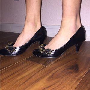 target Shoes - Black kitten heels