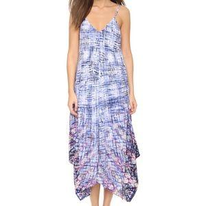 Charlie Jade Dresses & Skirts - 🆕 Charlie Jade Mixed Waves Blue/Purple Silk Dress