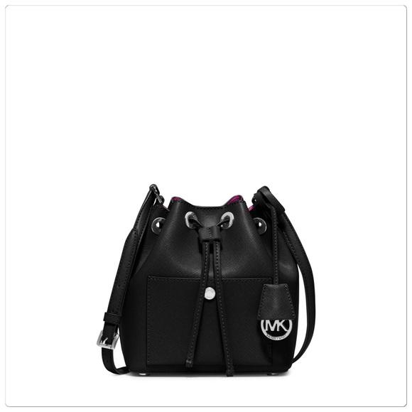 29faad4588bd16 Michael Kors Bags | Greenwich Blackpink Bucket Purse | Poshmark