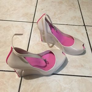 Melissa inspired jelly wedges