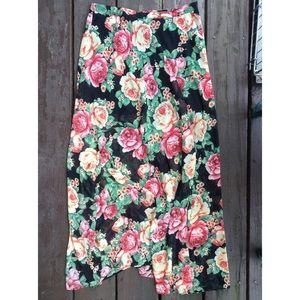 Forever 21 Dresses & Skirts - Forever 21 Floral Maxi Skirt