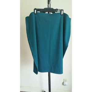 Dresses & Skirts - Teal Green midi pencil skirt