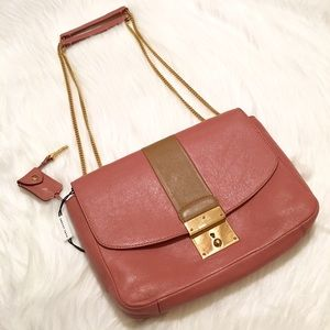 Marc Jacobs Handbags - NWT Marc Jacobs Mini Polly Leather Shoulder Bag!