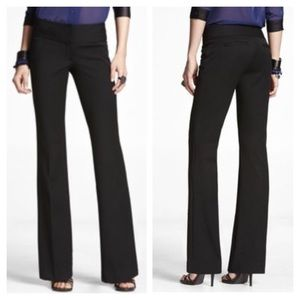 NWT Express Stretch Wide Waistband Flare Pants